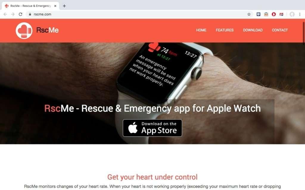 RscMe – Rescue & Emergency for Apple Watch